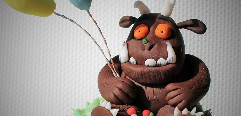 The Gruffalo Cake Decoration by Candy's Cupcakes