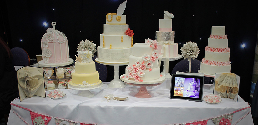 Candy's Cupcakes wedding exhibition stall