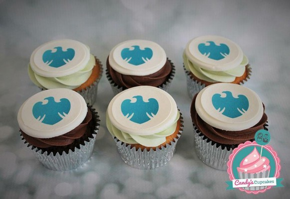 barclays corporate cupcakes