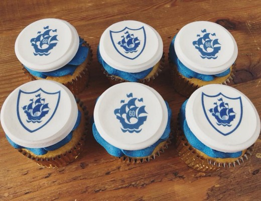 Blue Peter corporate cupcakes
