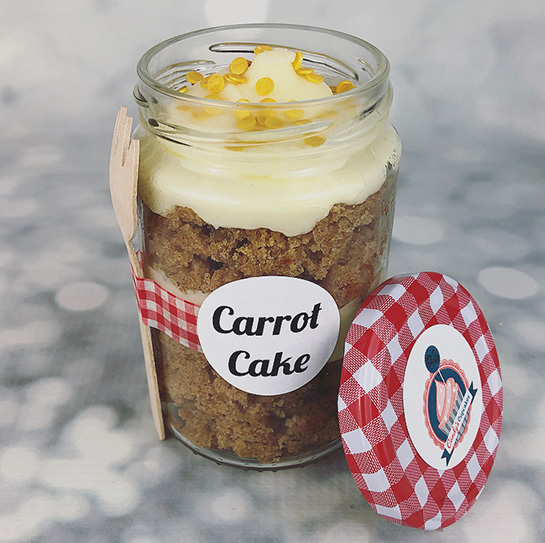 Cake-in-a-Jar - Cupcake Delivery
