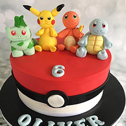Lego Ninjago Birthday Cake Pokemon