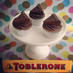Toblerone cupcakes - Cupcakes and Celebration cakes