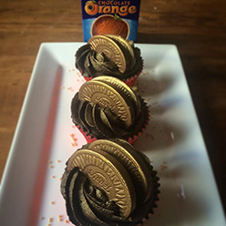 Chocolate Orange cupcakes - Cupcakes and Celebration cakes