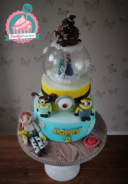... , Toy Story, Minion birthday cake - Cupcakes and Celebration cakes