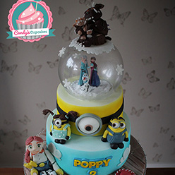 The Gruffalo, Frozen, Toy Story, Minion birthday cake - Cupcakes and Celebration cakes