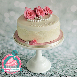 Vintage birthday cake - Cupcakes and Celebration cakes