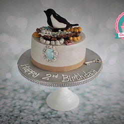 Magpies Nest birthday cake - Cupcakes and Celebration cakes