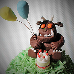 Gruffalo cake - Cupcakes and Celebration cakes