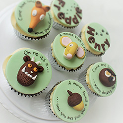 Gruffalo Cupcakes - Cupcakes and Celebration cakes
