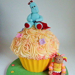 In The Night Garden giant cupcake - Cupcakes and Celebration cakes