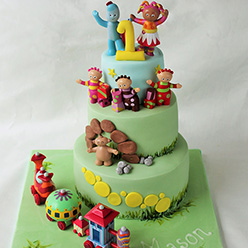 In The Night Garden birthday cake - Cupcakes and Celebration cakes