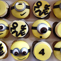 Minion cupcakes - Cupcakes and Celebration cakes