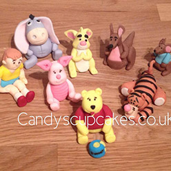 Winnie the Pooh models - Cupcakes and Celebration cakes