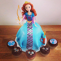 Brave giant cupcake - Cupcakes and Celebration cakes