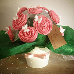Cupcake bouquet - Cupcakes and Celebration cakes
