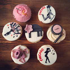 Chicago theme cupcakes - Cupcakes and Celebration cakes