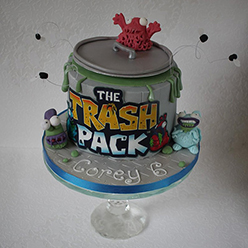 Trash Pack birthday cake - Cupcakes and Celebration cakes