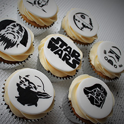 Star Wars cupcakes - Cupcakes and Celebration cakes