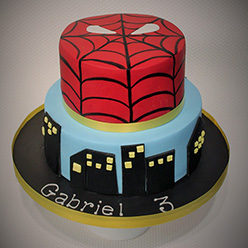 Spider-man birthday cake - Cupcakes and Celebration cakes