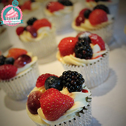 Fresh fruit cupcakes - Cupcakes and Celebration cakes