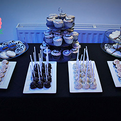 Wedding Dessert table - treats and wedding favours