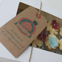 mini cupcakes - treats and wedding favours